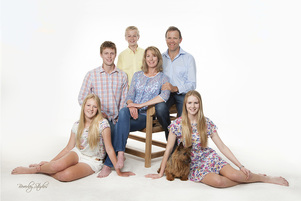 professional family portrait by Christchurch Beverley Studios professional photographers